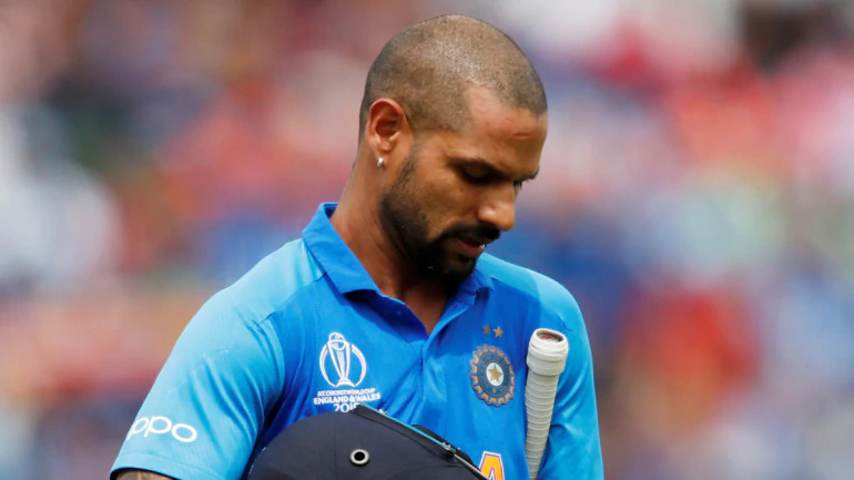 Shikhar Dhawan ruled out from the world cup and replaced by Rishav Pant