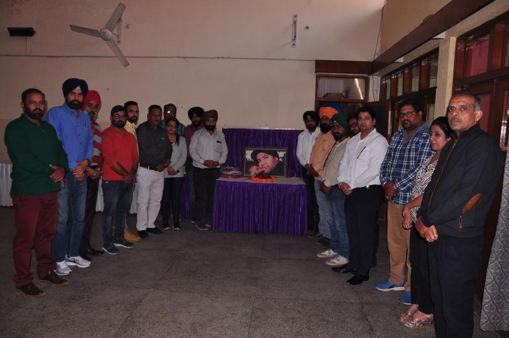 Journalists Association & Aditya Jaitly Memorial Society Celebrated Aditya Jaitley's BIrthday