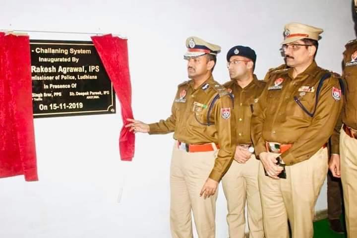 लुधियाना पुलिस द्वारा ऑटोमेटिक ई चालान सिस्टम शुरू किया गया।
