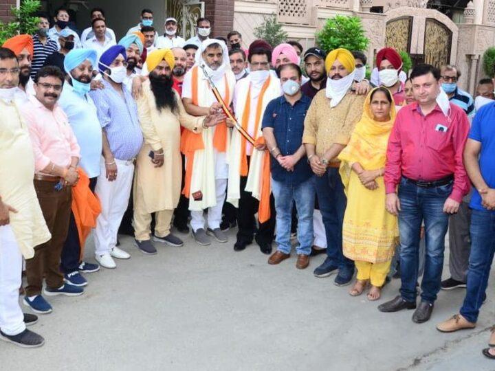 Shiromani Akali Dal Trade and Industry Wing President Shri NK Sharma visited Ludhiana.